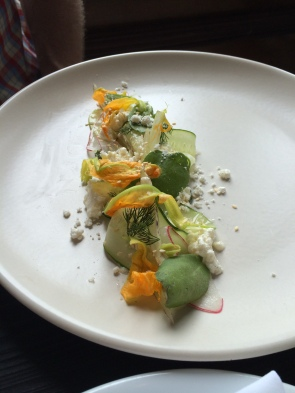 Coquette - Shaved Cucumber Salad