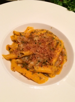 All'Onda - Garganelli with Peaky-toe crab