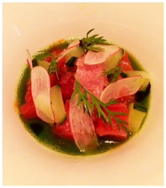 Aldea - Big Eye Tuna Crudo