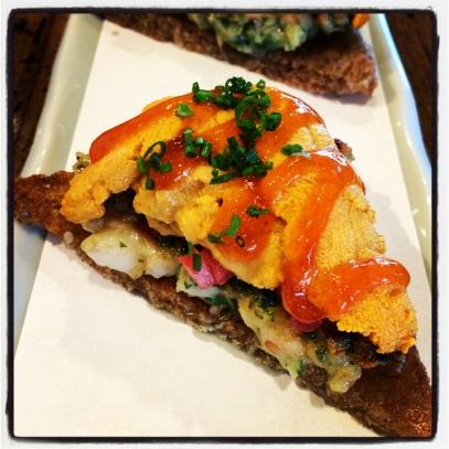 Paiche - Uni Shrimp Toast