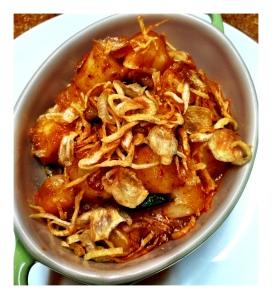 Ma Peche - Roasted Rice Cakes