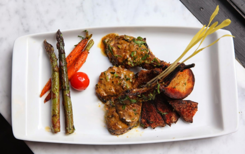 Pippali - Grilled Rack of Lamb