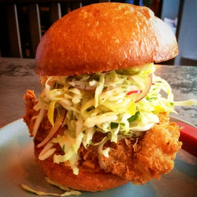 Son of a Gun - Fried Chicken Sandwich