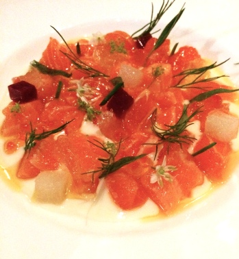 Tasmanian Sea-Trout Crudo - République
