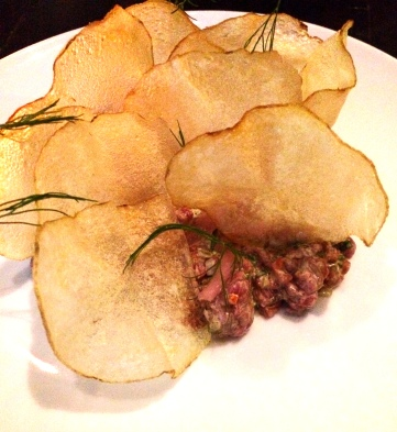 Grass-fed Beef Tartare - République