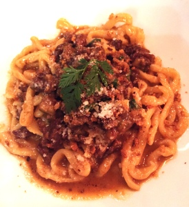 Pici with lamb ragu - Bestia