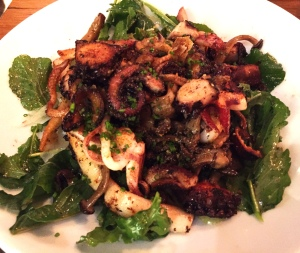Grilled Octopus and Calamari - Bestia