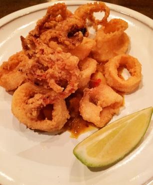 Calamari with Lentil curry - Pot Luck Club