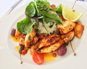 Calamari with Smoked Paprika - Harbour House