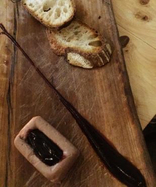 Chicken Liver and Foie Gras - Borage