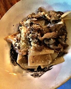 Wild Mushroom Pasta - Bar Bolonat