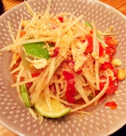 Spicy Papaya Salad - Somtum Der