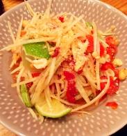 Spicy Papaya Salad - Somtum Der
