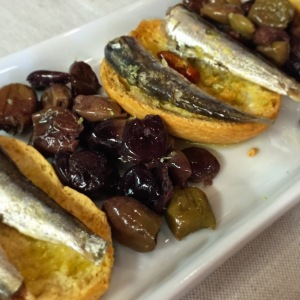 Bruschetta with Cantabrian Sardines - Roscioli
