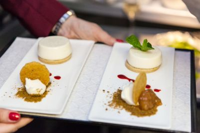 Cardamom Panna Cotta - Qatar Airways
