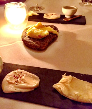 Honey sweetened lard, Farm butter and Single-udder Butter - Blue Hill at Stone Barns