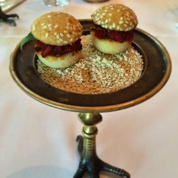 Tomato Burgers - Blue Hill at Stone Barns