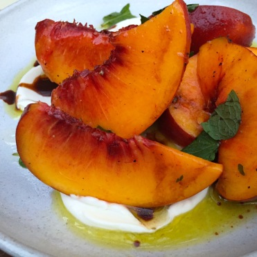 Market Peach Salad - Hatchet Hall