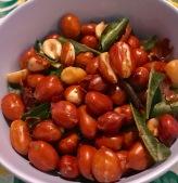 Roasted red peanuts, Pok Pok NY